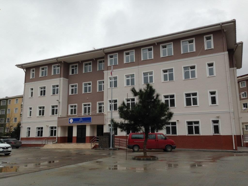 Çekmeköy Ortaokulu Yapımı